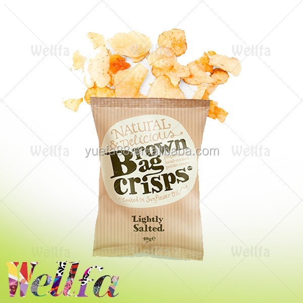 Accept custom pritn heat sealable package bags for potato chips