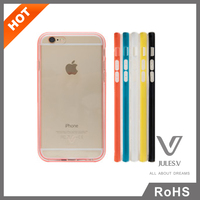 2 in 1 Soft TPU Light Weight Plastic Cell Phone Case For iPhone 6/6 Plus Protective Cover