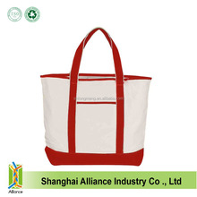 2015 OEM manufacturer custom cotton shopping bag, fashion beach bag, canvas tote bag