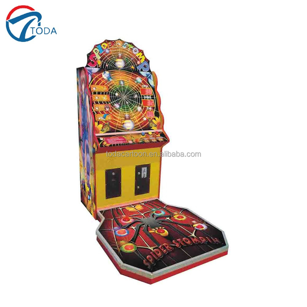 Newest video redemption finger fly coin operated game machine/Build A Brick Stacker game machine