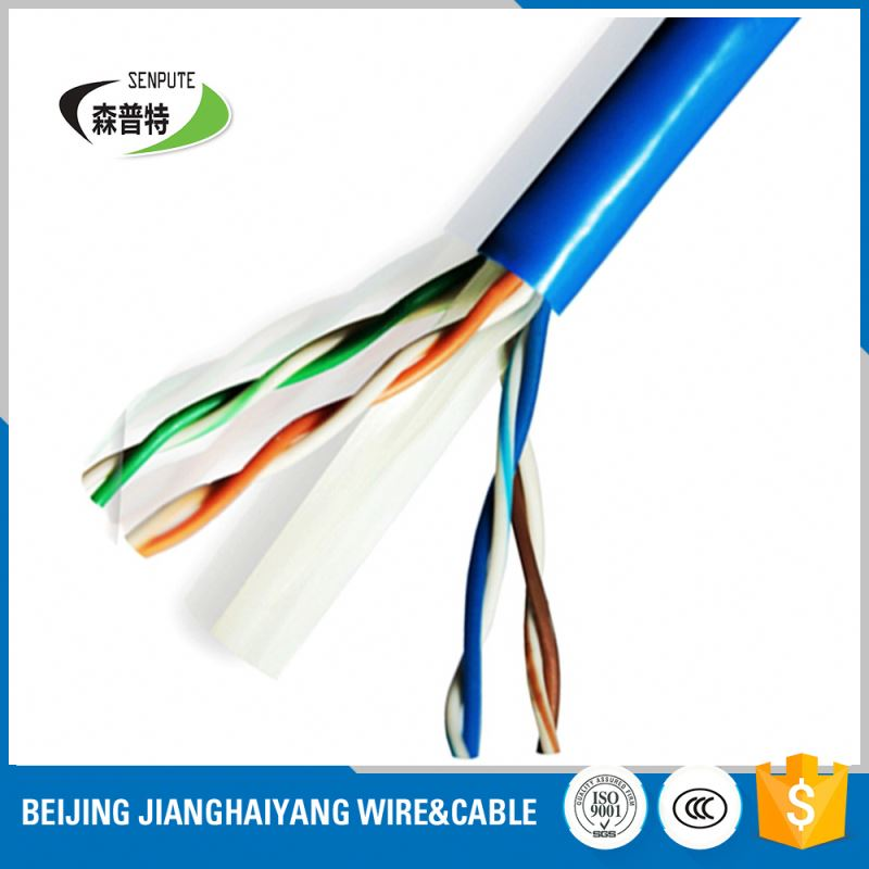 braided power pvc copper wire cat6 ethernet cable
