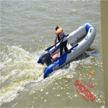 PVC Inflatable rubber motor boat v boat for sale