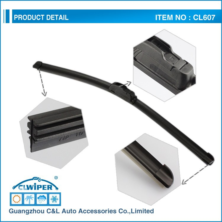 Great vision,long durable New type flat wiper cleaning blade wiper