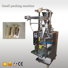 China manufacturer automatic vertical measuring cup 2 in 1 coffee sugar stick sachet filling packing machine price