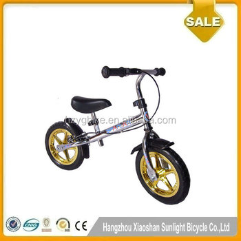 2016 Luxury Gold Color Toddler Balance Bicycle