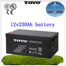 Manufacture price 12v 230Ah deep cycle exide battery