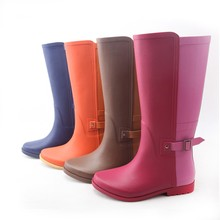 lady fashion rubber rain boot custom-made rubber boot women rubber boot