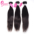 Cuticle Align One Bundle Of Brazilian Black Hair Extensions Straight Machine Wefts