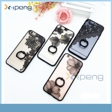 Bulk Buy From China Fashion TPU Material Anaglyph Lace Ring buckle Smart phone back cover for samsung galaxy tizen z3