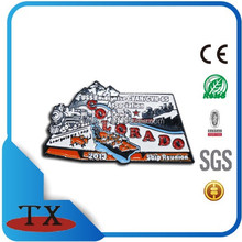 full color infill metal lapel pins free sample from China