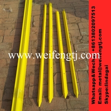 Small piece bale rectangular plastic posts animal fence price