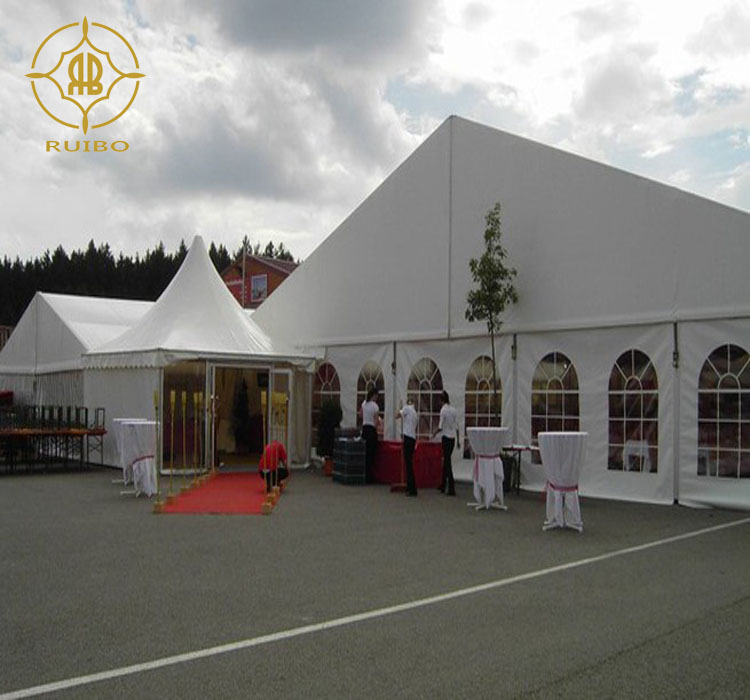2018 guangzhou fair tent Anti-fire Canton Fair Marque with high quality, Commercial Party Tents