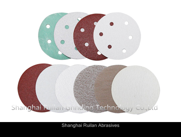 High Quality 3M Aluminum Oxide Sand Velcro Discs with Holes