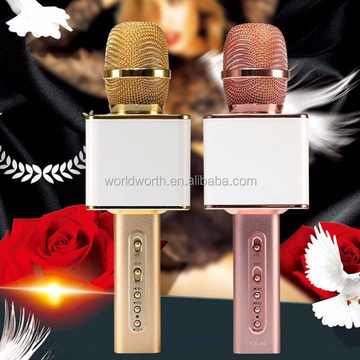 New Karaoke Microphones YS-10 Mini Magic Wireless Karaoke Player Microphone Bluetooth Speaker Mic