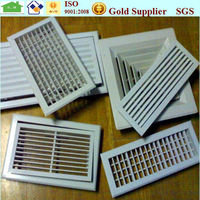 HVAC fixed type aluminum air grille anodized