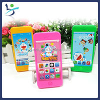 Doraemon music cell phone candy container candy toy