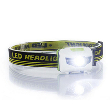 H3 High quality Torch light 4 Mode headlamp Waterproof LED Headlight Flashlight white + red light Head lamp