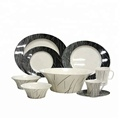 China factory direct price best selling homeware rustic melamine dinnerware sets