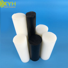Diameter 5mm white and black Extruded nylon PA 6 plastic rod