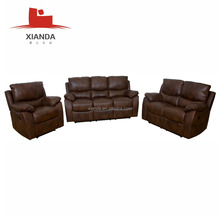 Germany sectional cheers furniture leather recliner sofa