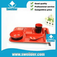OEM Plastic Food Serving Tray food grade plastic tray