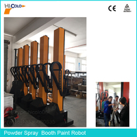 Automatically Powder Spray Booth Gun Equipment Paint Robot