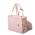 2017 Stylish customised women's travel pink nylon tote bag