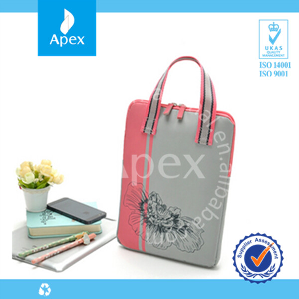 2014 custom printed fashion laptop hand bag