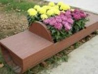 Durable wpc flower box