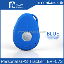 Small safety gps device with micro GPS chip for human tracking device