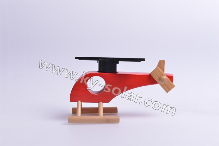 2012 solar toys helicopter for car decoration
