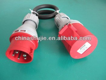 zhejiang flat electrical plugs and socket s, industrial plug and socket , waterproof plug and socket with 3 pin