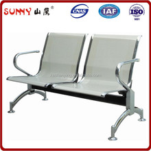 Top selling metal airport/hospital/bank waiting chairs