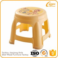 Promotional plastic bright color children chair