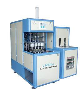 blowing machine for pet bottle 4-cavity