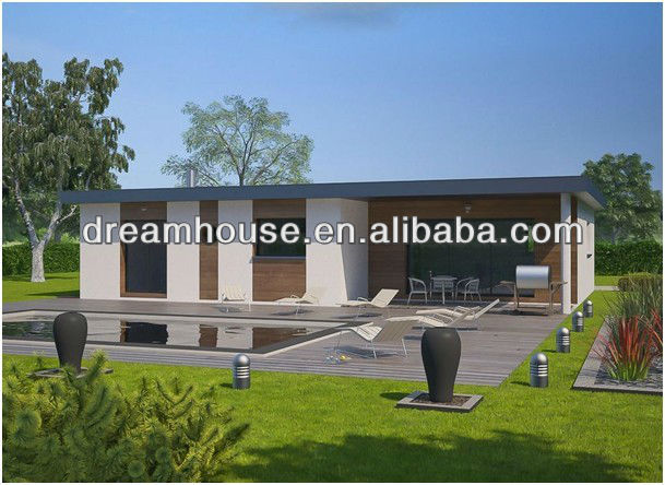 Moderno a buon mercato prefabbricata case 2 camera da for Moderne case a telaio