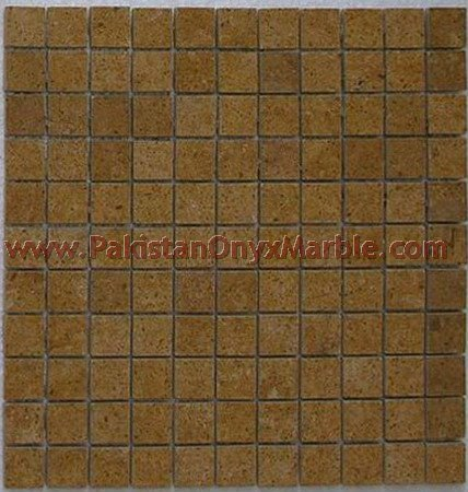 INDUS GOLD ( INCA GOLD ) MOSAIC TILES FOR FLOORING