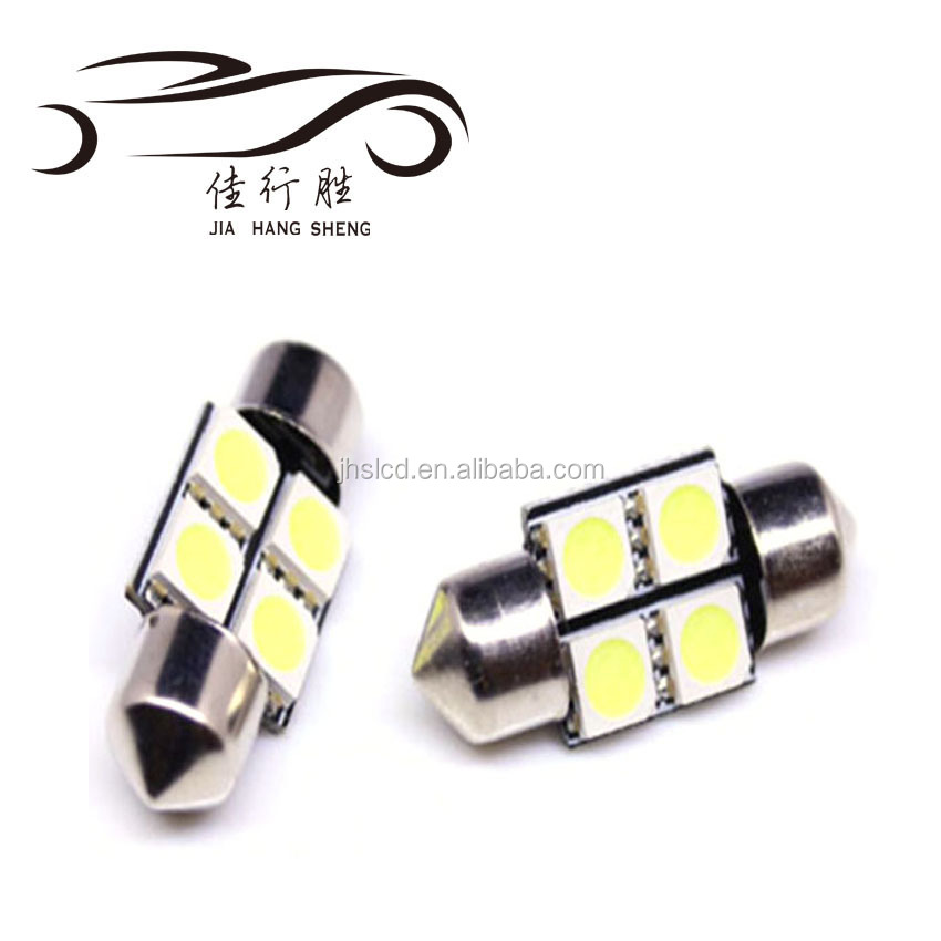 Wholesale Price High Quality Auto 31mm 36mm 39mm 41mm 5050 4SMD Festoon Dome Led Light Bulbs Reading Light DC12V 24V