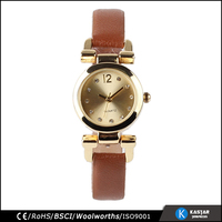 ladies gold plated wrist watches sale, quartz watch manufacturers in china