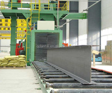 Q69 steel plate shot blasting machine,industrial sandblasters