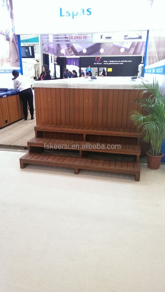 High quality hot tub wood skirt