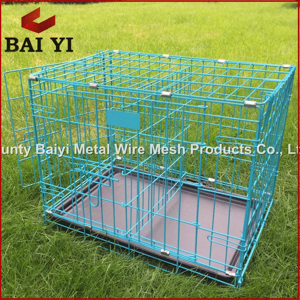 Cheap Fiberglass Folding Dog Cage for Sale