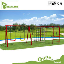 Galvanized steel leisure outdoor metal swing sets adults