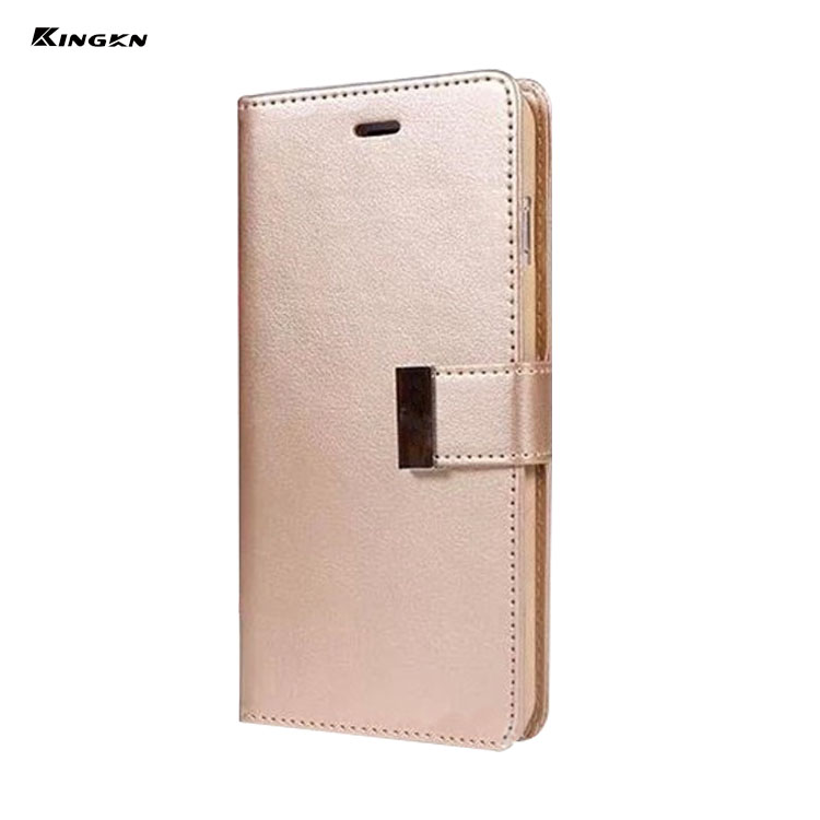 pu flip cover fashion lady wallet case book cover tpu back cover