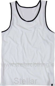 100% cotton Men's Tank top