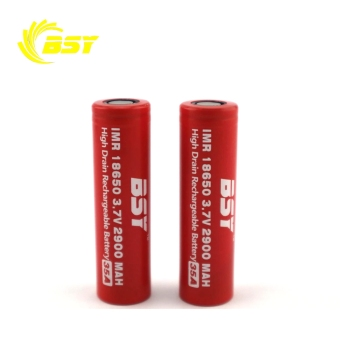 Original IMR 18650 3.7V 2900mah 35A high power rechargeable battery 18650 BSY battery