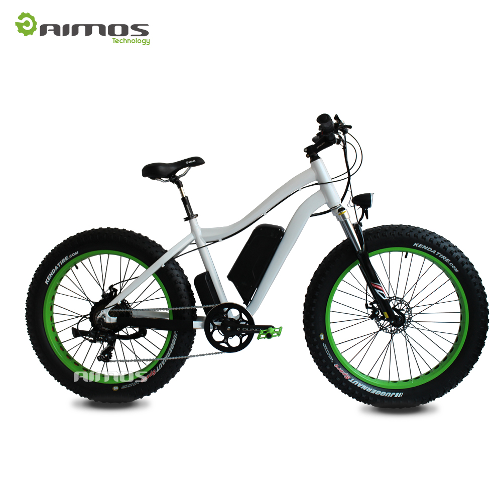 Changzhou Aimos bicycle fat tire 26x4.0 with Aluminum Alloy rim /OEM beach cruiser fat wheel bicycle