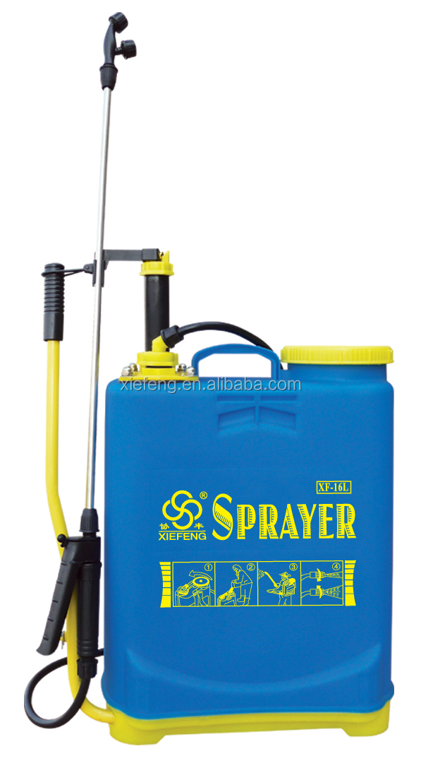 16L hand Double-piston liquid fertilizer sprayer