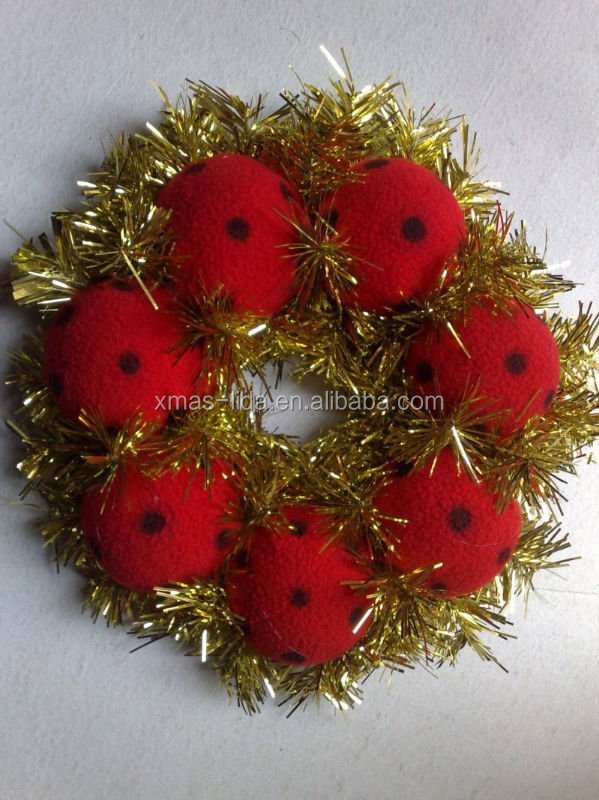 Wholesale Artificial Christmas Wreath for 2013