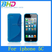 BHD wholesale S Line TPU for iphone 5c case